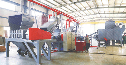 LD 2000 Automatic Radiator Recycling Machine