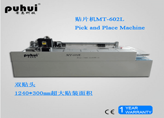 LD 602L Chip Mounter Machine with 56 feeders and 2 placement heads