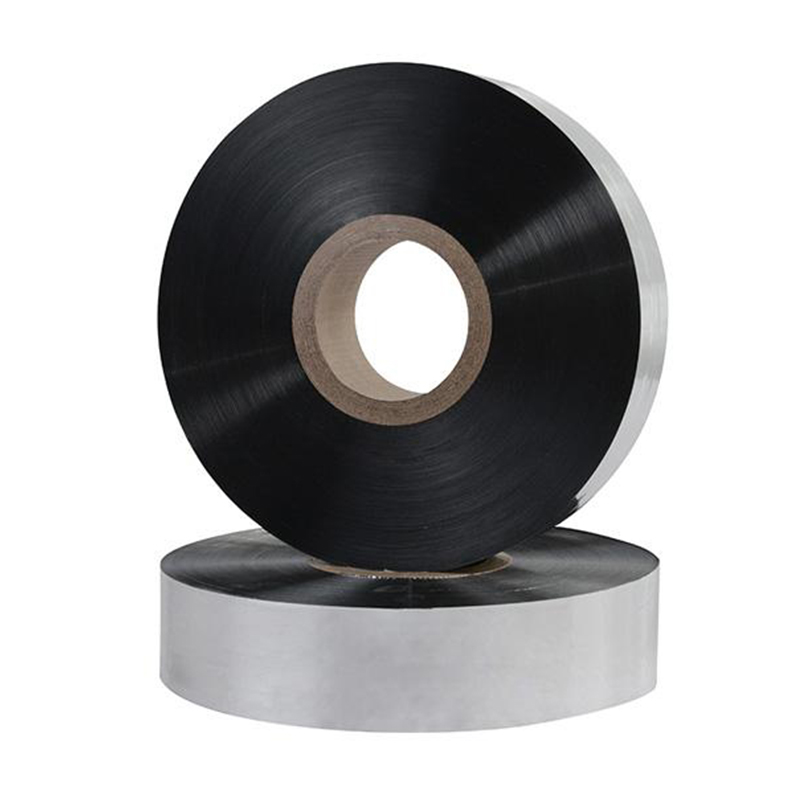 Metallized film tape for insulation upto 5-2540 mm wide and standard internal diameter 76mm.