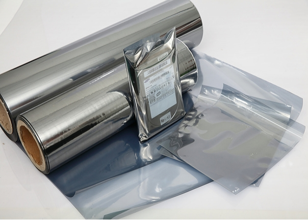 ESD safe static discharge draining EMI shielding film