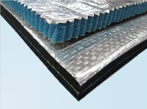 waterproof and quakeproof Aluminium EPE Foam Thermal Insulation Material