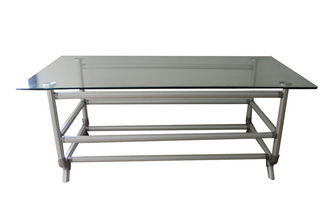 Lightweight Reuseable Flexible Composited Pipe Workbench ESD Aluminum Pipe Table