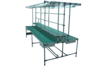 ESD Anti - Static Long Lean Pipe Workbench For Electronic Products Testing