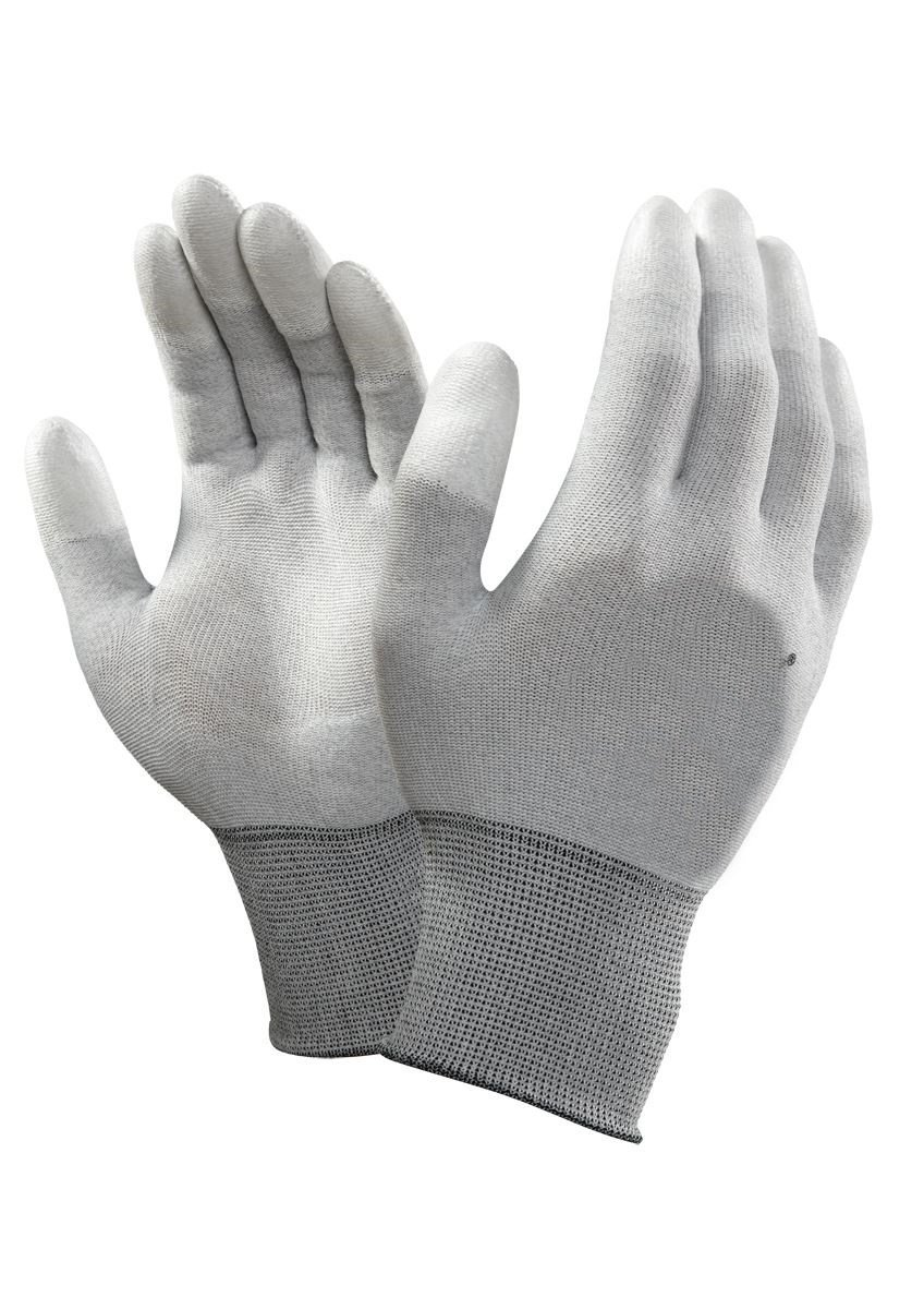 ESD Safe Top Fit Fingertip Coated Anti Static Gloves