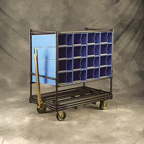 Compartmented Dunnage Carts & Racks