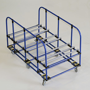 Cradle-Style Push Carts & Racks