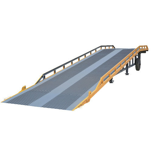 Manufacturers and Suppliers of loading dock ramps, portable dock ramps, forklift dock ramps and ground to dock ramps.