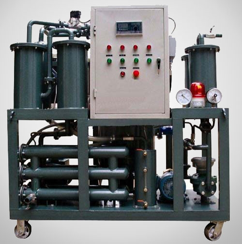 Lube oil purifier system