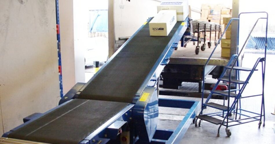 Vehicle Loading - Unloading Conveyors