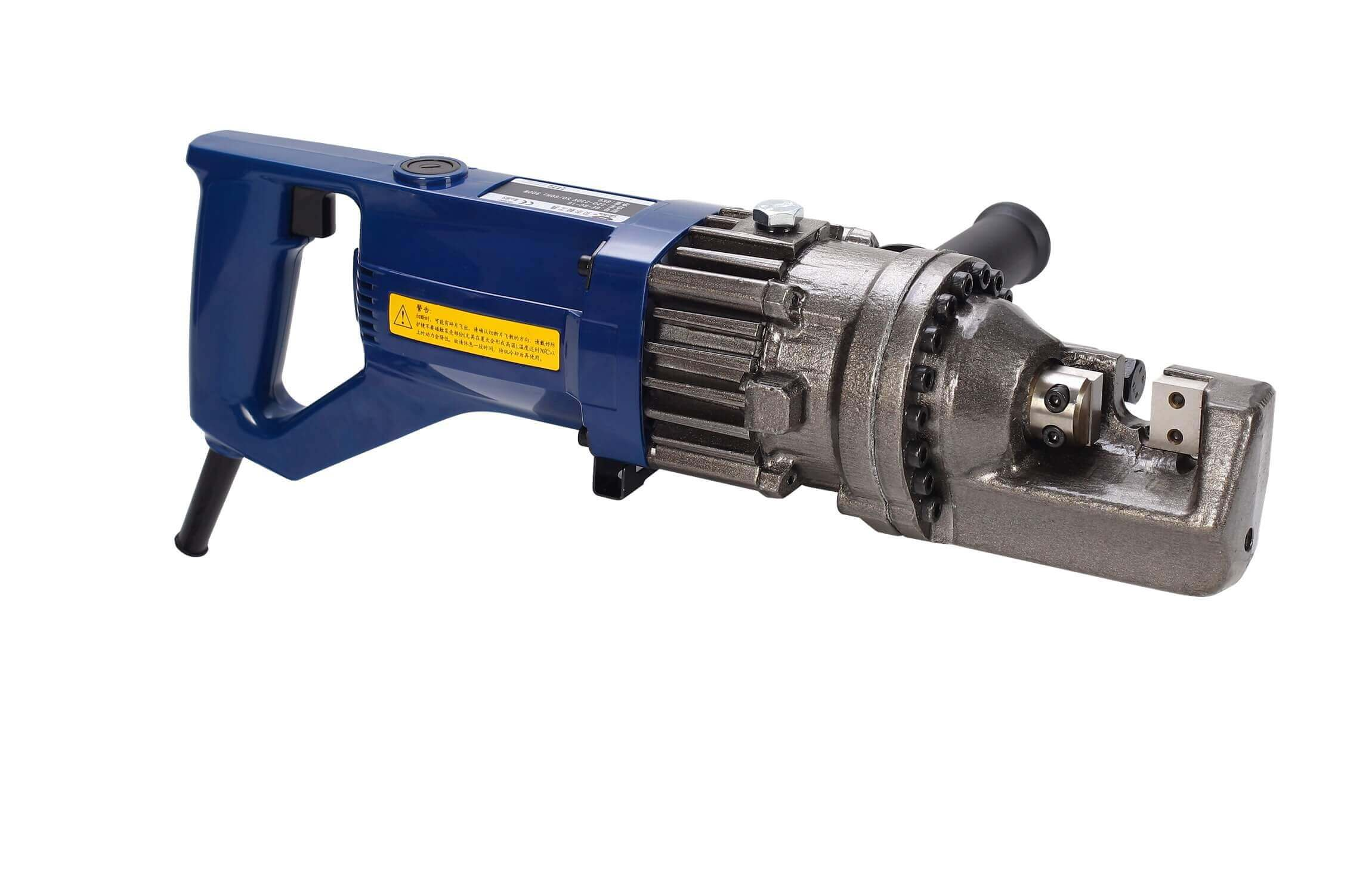 The BE RC 16 rebar cutting and bending machine is a light weight, small and portable electric rebar cutter. Features:- 1.Easy to operate. 2.This electric rebar cutter is safe for the users as it cuts without sparks, sediments and smell. 3.Widely used in cutting construction rears, deformed bars, round steel bars, steel rods and threaded rods. 4.Best selling tmt bar cutting machine with 24*7 after sales support by Lessdeal..