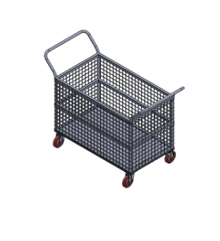 Basket Trolley by lessdeal ecommerce